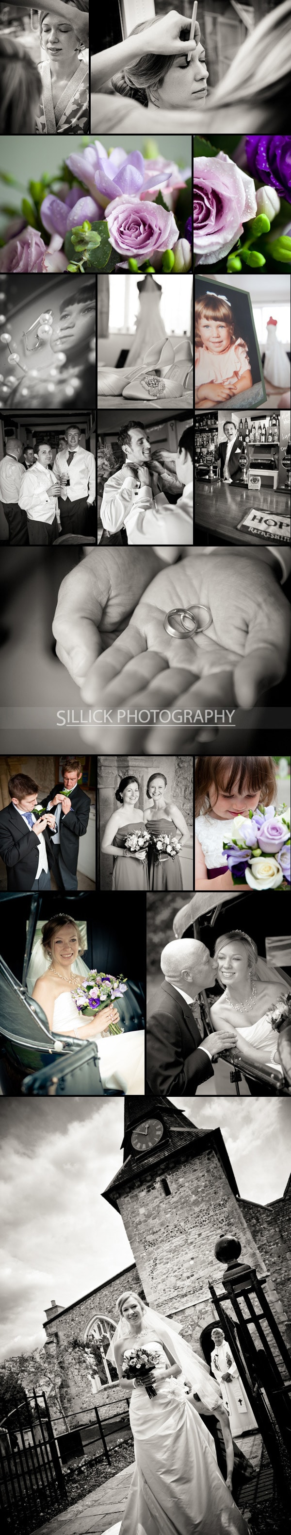 Hill Place Swanmore Wedding